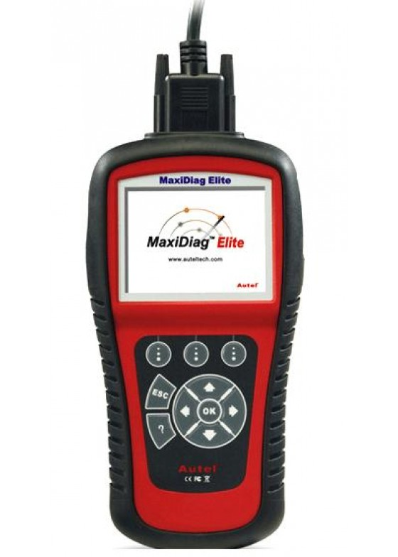 Professional OBD + EOBD Diagnosecomputer Elite MD802 (WERELDWIJD)