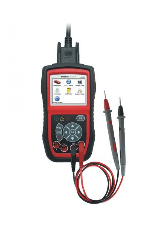 OBD/EOBD Diagnosecomputer + oscilloscoop Type AL539