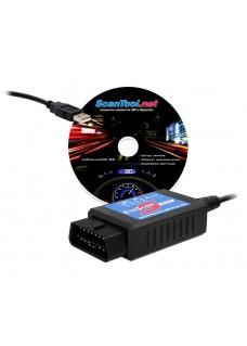 ELM Scan 5 Compact diagnosemodule USB - OBD2 (incl. software)